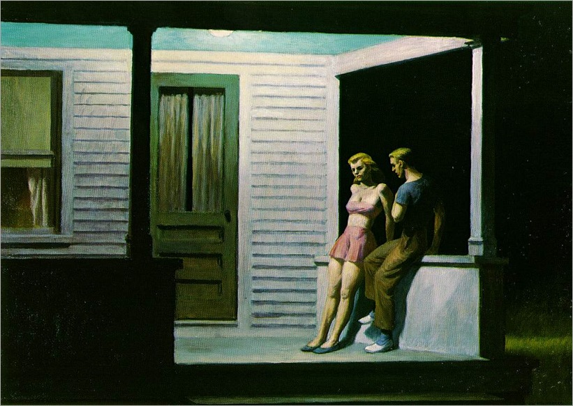 summer-evening-edward-hopper