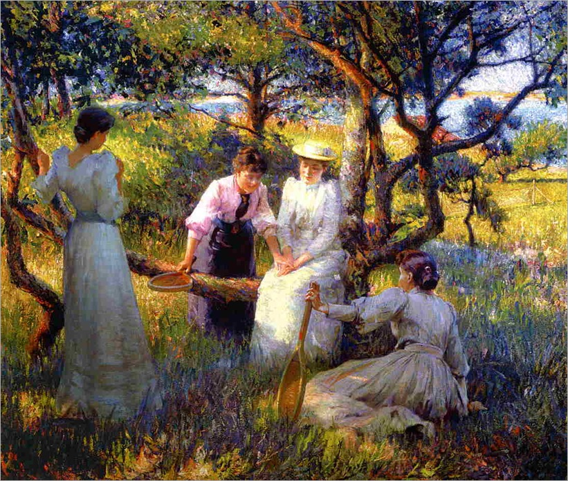 The Ring 1892 Robert Vonnoh