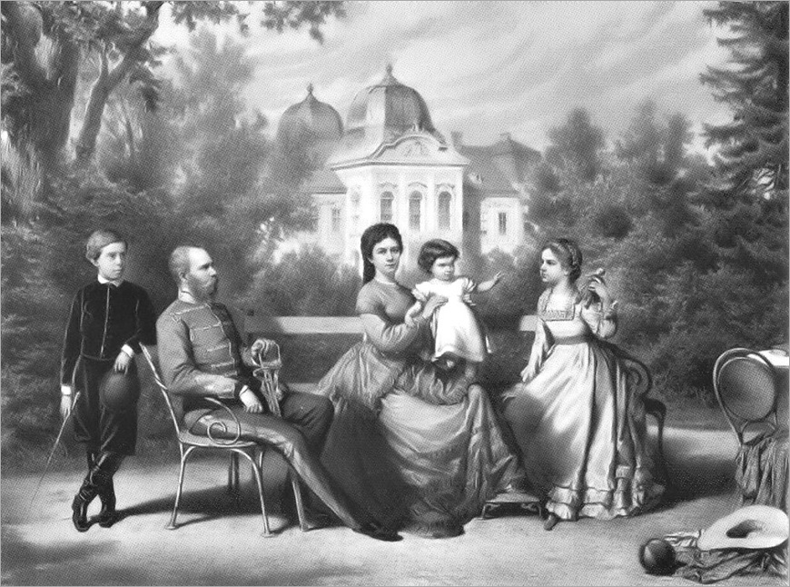 The_Austrian_Imperial_family_in_Göddollo