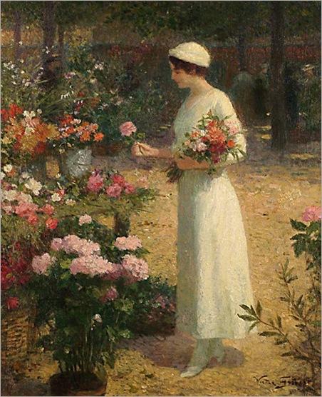 vggilbert-pickingflowers