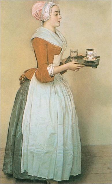 1745 jean etienne liotard la chocolatière