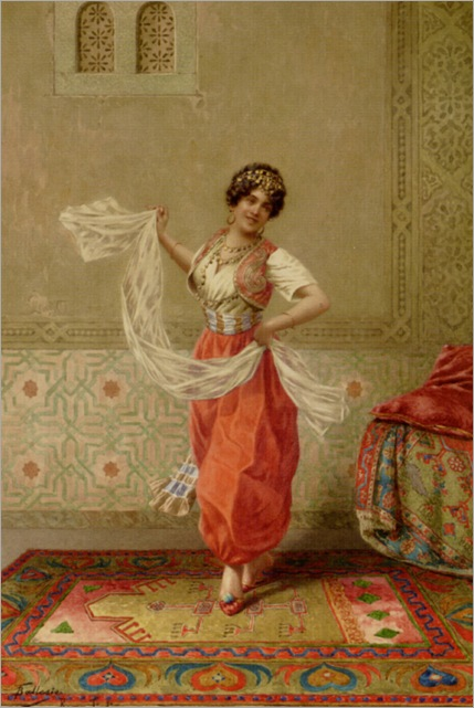 Ballesio_Francesco_The_Oriental_Dancer