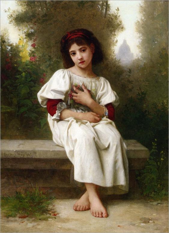 Bouguereau_Elizabeth_Jane-Gardner-In_the_Garden