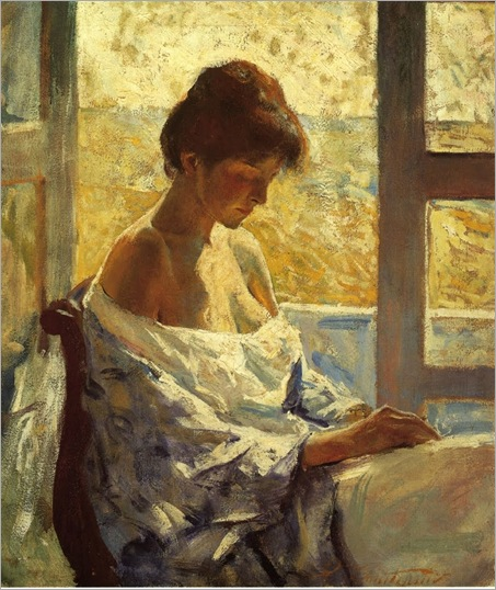 Charles W_ Hawthorne - By the Window