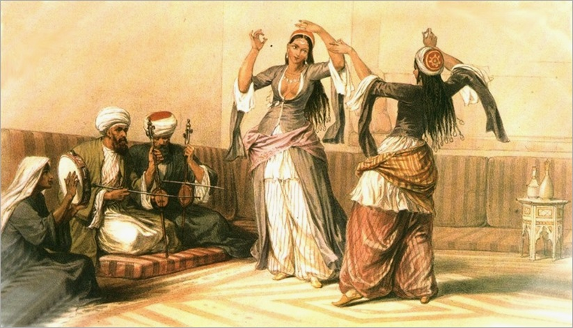 David-Roberts-The-Ghawazee-Of-Cairo