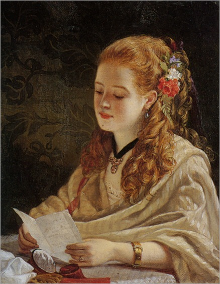 Egley_William_Maw_The_Letter_1863