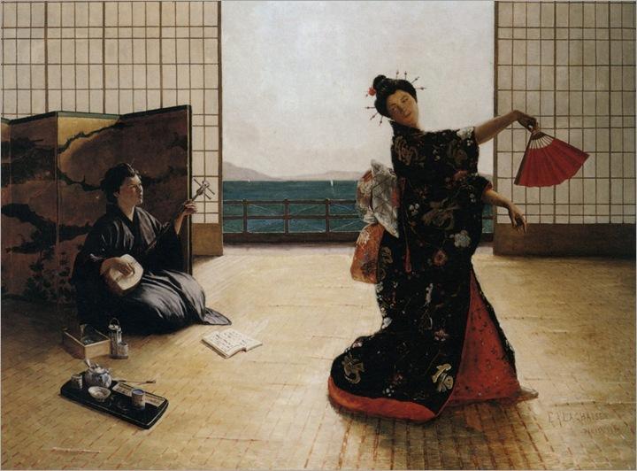 Lanchaise_Eugene_Armand_Danse_Japonaise_1889