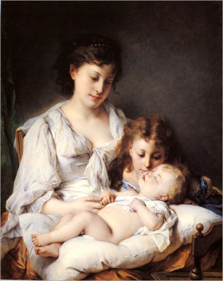 maternal_affection-adolphe-jourdan