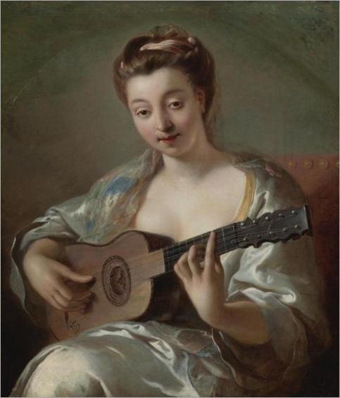 Troy, Francois de (1645-1730) - The Guitar Player