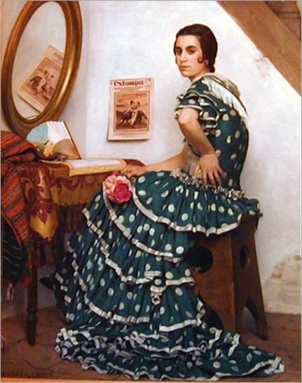 AndrePaulLeroux_spanish_flamenco_dancer