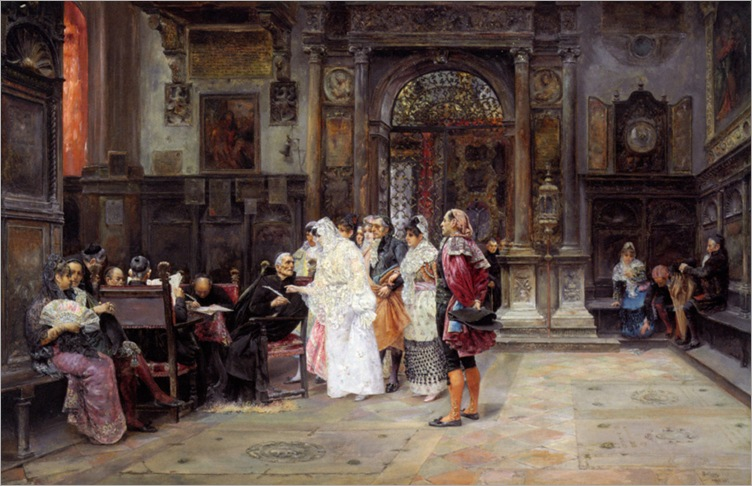 Arnosa_Jose_Gallegos_Y_The_Wedding_Day_1889