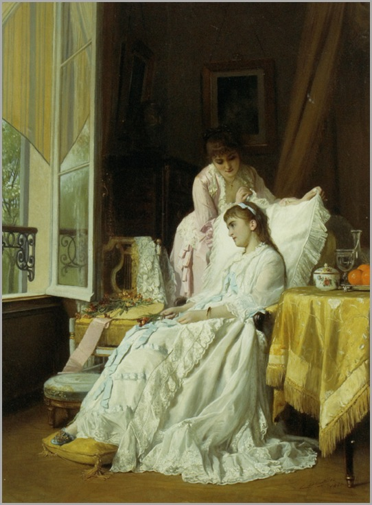 Baugniet_Charles_Louis_The_Convalescent_1880