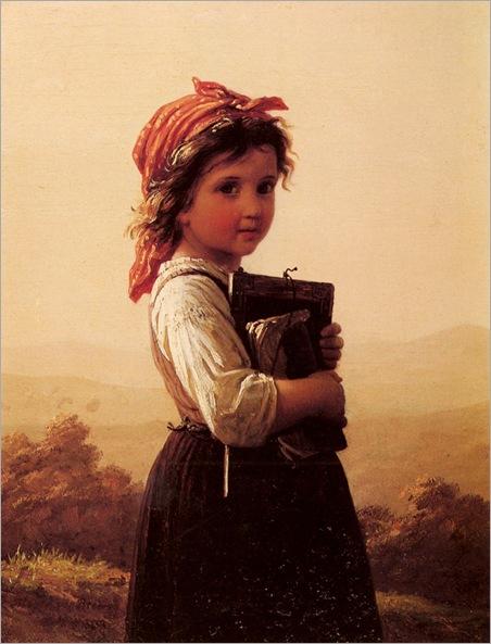 Bremen_Johann_Georg_Meyer_Von_A_Little_Schoolgirl