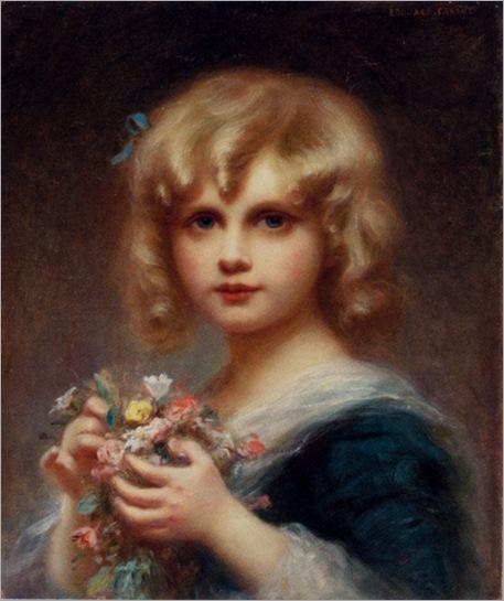 EdouardCabane-girl_with_flowers