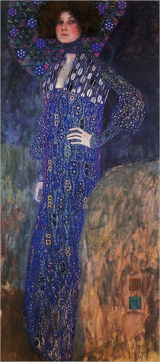 Gustav Klimt Portrait of Emilie Floge 1902