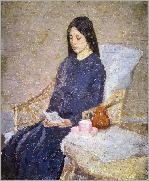 Gwen John-the-convalescent