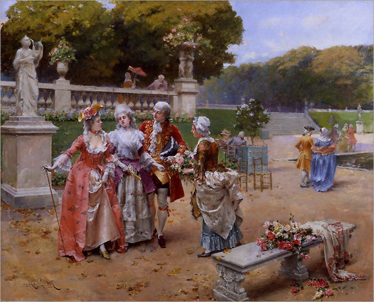 henry_victor_lesur_sunday_in_the_park