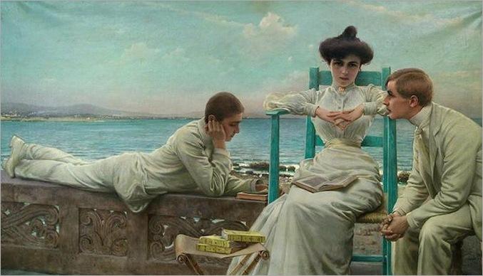 vittorio_matteo_corcos_020_in_lettura_sul_mare_1910