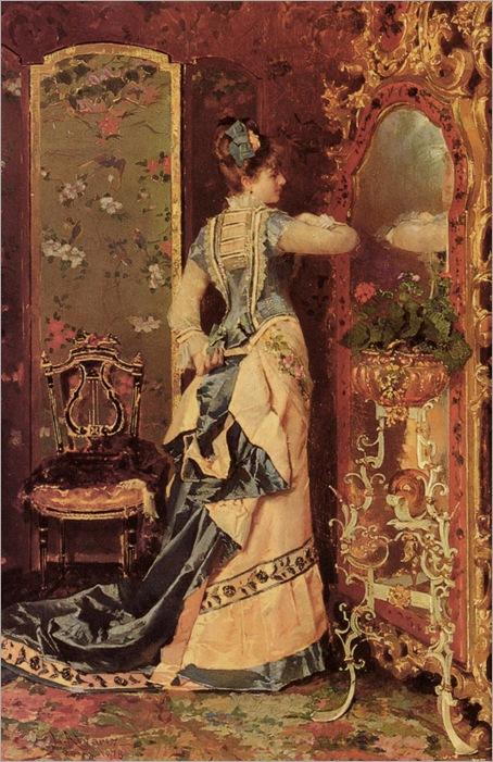 Woman Before A Mirror-L-A-Catala