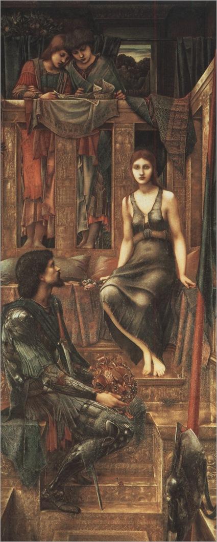 1884 burne-jones king cophetua ant the beggar maid