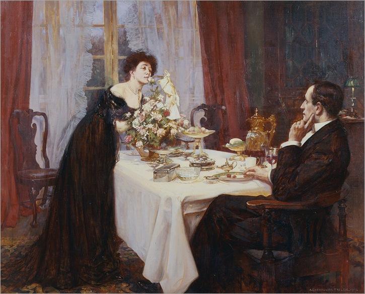 albert-chevallier-tayler--the-anniversary