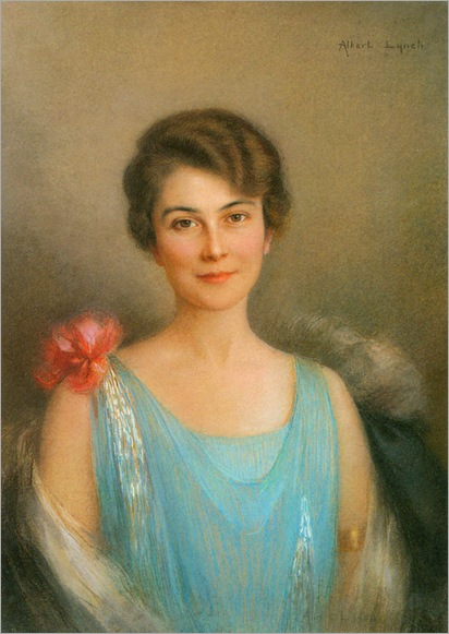 AlbertLynch_a_portrait_of_a_lady_in_blue