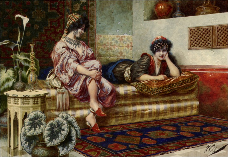 Aureli_Giuseppe_Idle_Hours_In_the_Harem