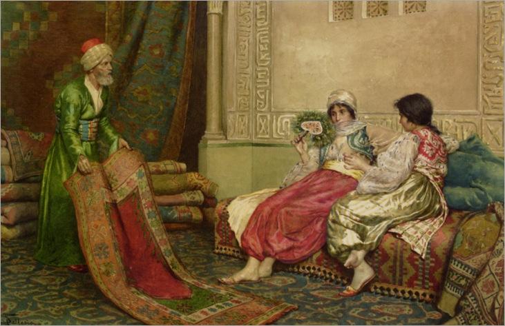 Ballesio_Francesco_The_Carpet_Sale