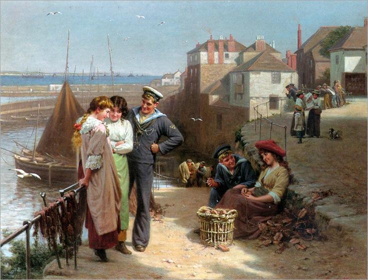 EdwinThomasRoberts(1840-1917)naval_manoeuvres
