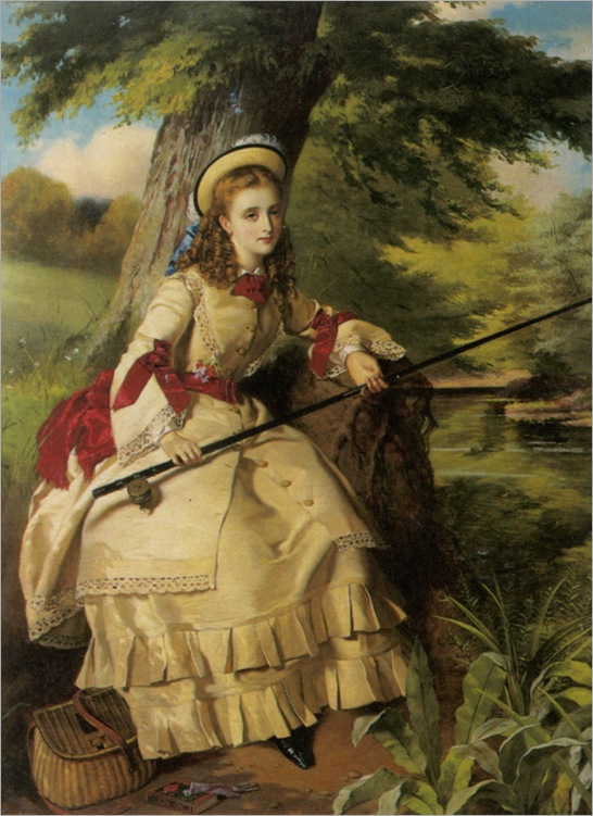Egley_William_Maw_A_Young_Lady_Fishing_1873