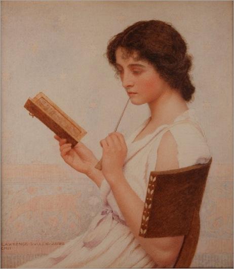 georgeBulleid_The_Love_Letter_1911