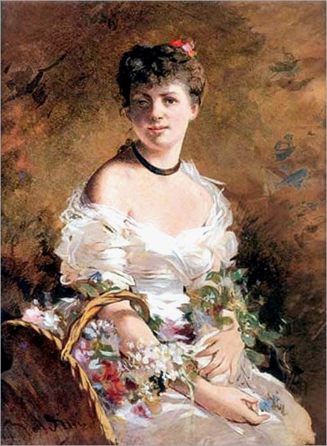 Giovanni-Boldini-Lady-with-Flowers-1870