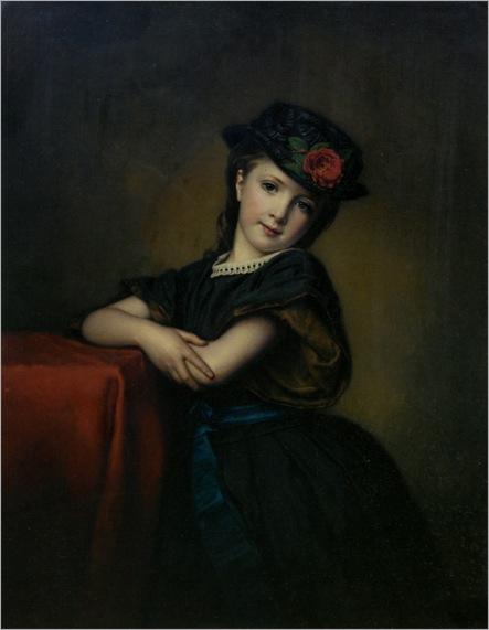 Halle_Samuel_Baruch_The_New_Bonnet_1865