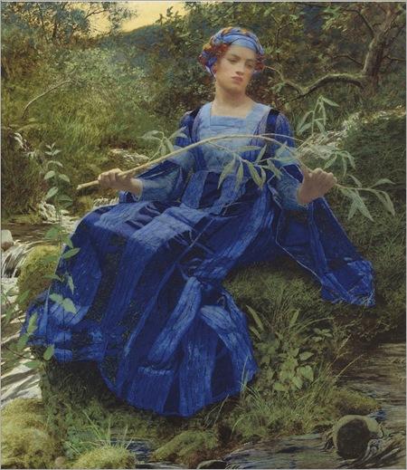 Lexden Lewis Pocock (1850-1919) «The fresh streams ran by her»