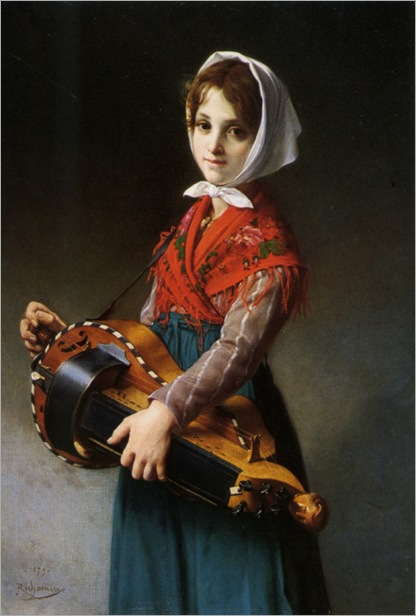 Richomme_Jules_The_Hurdy_Gurdy_Girl_1879_2