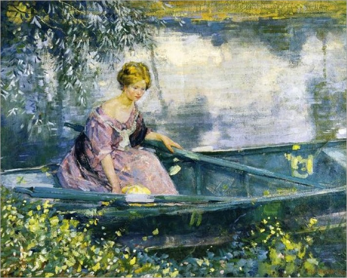 small_young-girl-in-a-boat-karl-albert-buehr-