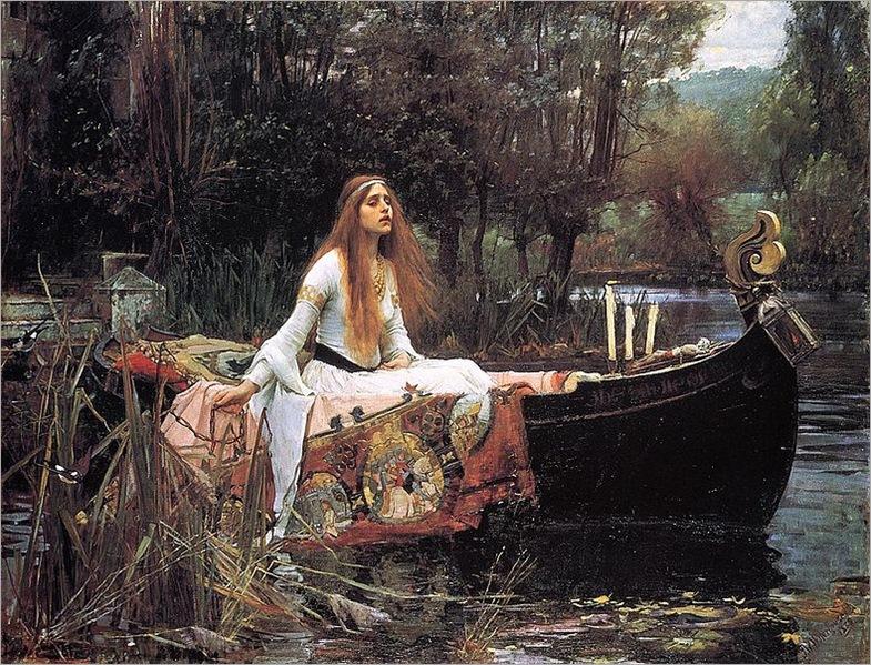 TheLadyOfShallot_1888-1