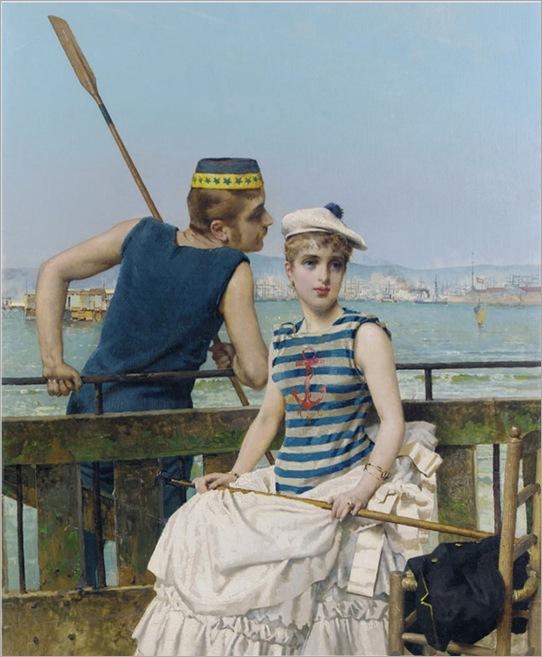 Vittorio_Matteo_Corcos_Livorno_Florence_At_the_Regatta1889