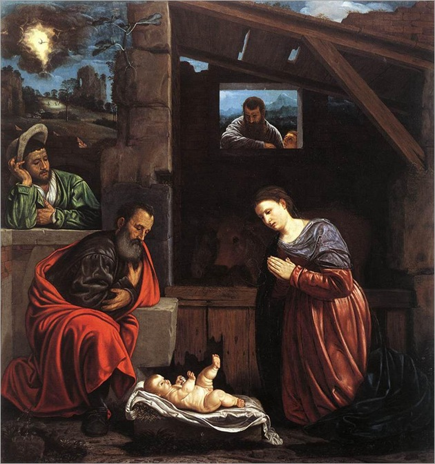 adoration_of_the_shepherds-Giovanni-Girolamo-Savoldo(1480-1548)