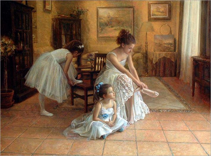 Ballerina by Antonio Capel