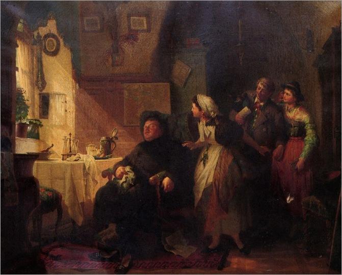Baungartner_Peter_The_Hearty_Repast_1879