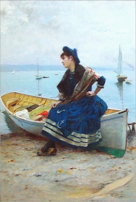 Emile_Pinchart-Yachtmans-Wife