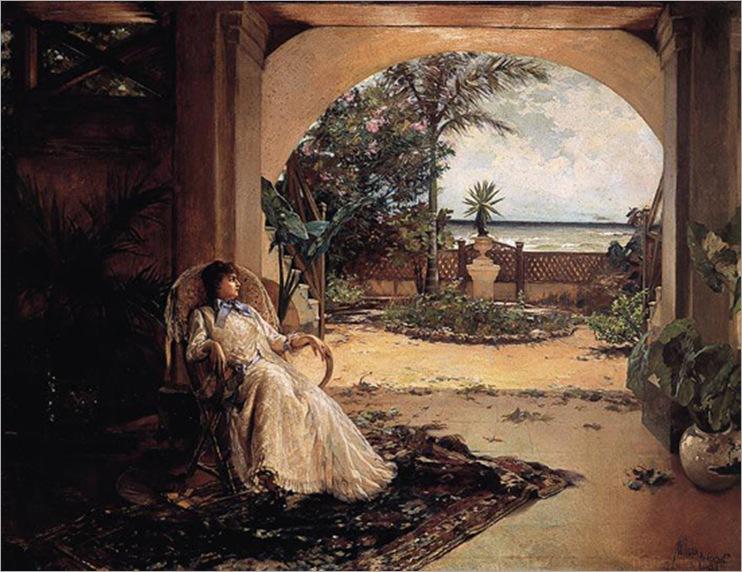 Guillermo_Collazo_-_La_Siesta,_1888