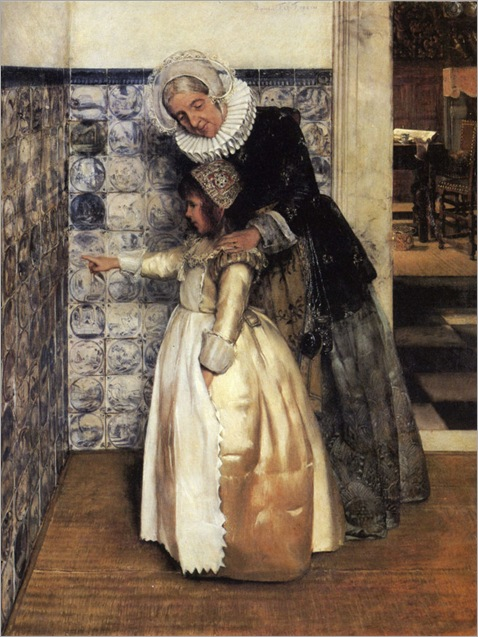 Lady_Laura_Alma_Tadema_The_Bible_Lesson