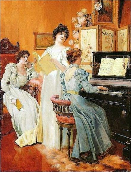 Oscar_Pereira_da_Silva_-_1901_-_Hora_de_Música