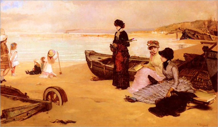 vicentePalmaroliYGonzalez_a_summers_afternoon_at_the_beach