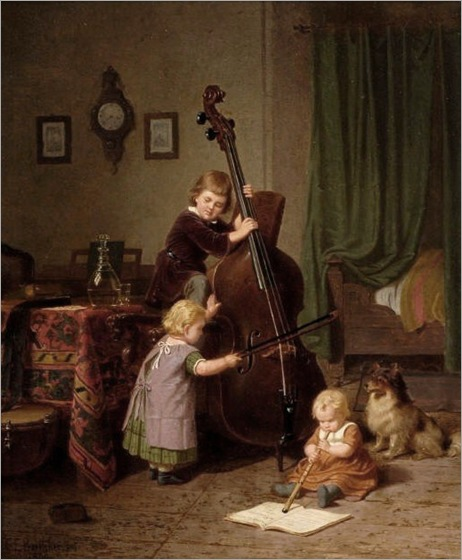 Böttcher,_Christian_Eduard_-The_Music_Lesson_-_1860