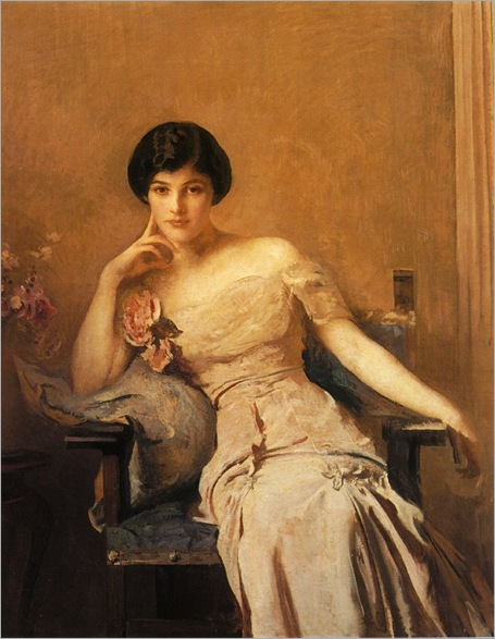Edmund_Charles_Tarbell Mrs Lawrence 1912