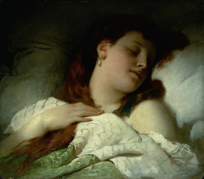 Sandor-Liezen-Meyer-sleeping-woman