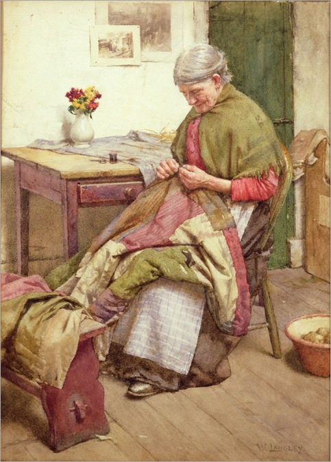 walter-langlay-the-old-quilt